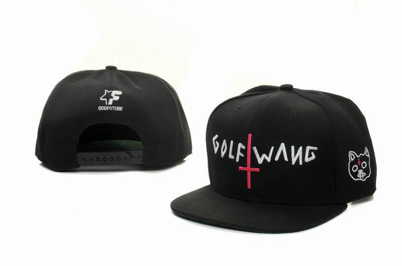 Odd Future Golf Wang Black Snapbacks Hat GF